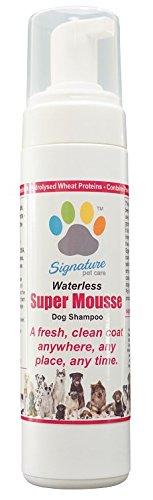 Super Mousse wasserloses Hund Shampoo
