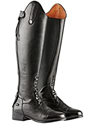 Dublin Holywell Ladies Tall Field Leather Boots - Black