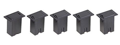 SaySure - 9V Battery Plastic Box Case Holder for Active Bass Guitar