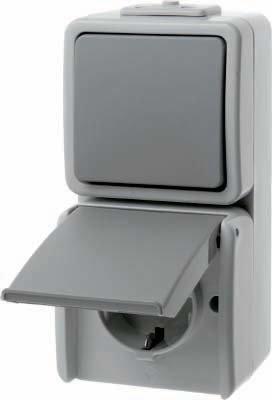 Berker Komb.Schalter/Steckdose 478005 Aquatec AQUATEC Schalter-/Steckdosenkombination 4011334165354 von Berker auf Lampenhans.de
