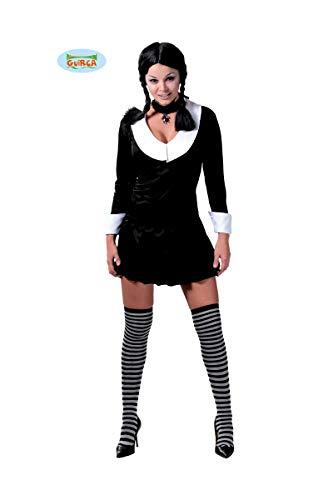 GUIRCA SL. Kostüm-Kostüm für Damen, Schwarz und Weiß, Einheitsgröße, ()