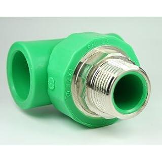 Aqua-Plus - PPR Rohr T-Stück AG d = 25 mm x DN 20 (3/4