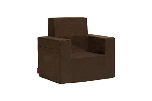 Classic Kindersessel Kinder Babysessel Baby Sessel Sofa Kinderstuhl Stuhl Schaumstoff Umweltfreundlich (Hat Kind Schaumstoff Braun)