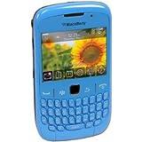 """Blackberry 8520 - Smartphone Movistar Libre (pantalla de 2,46"""" 320 x 240, cámara 2 MP, 256 MB de capacidad, procesador de 600 MHz, teclado QWERTY, S.O. iOS 5) Celeste"""