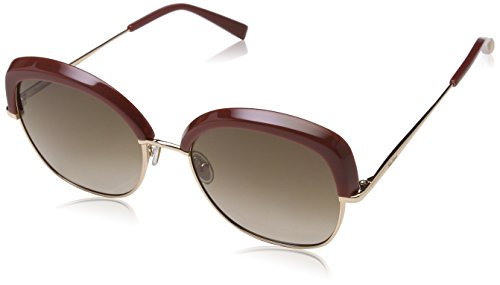 Max Mara Damen MM NEEDLE V HA BUH 56 Sonnenbrille, Brick Gold/BW Brown