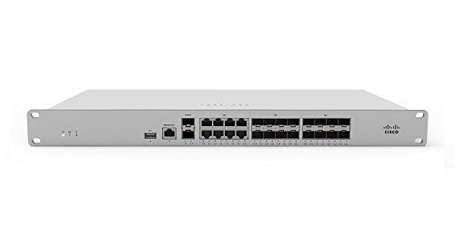 Cisco Meraki MX250 1U 4000 Mbit/s Hardware-Firewalls (4000 Mbit/s, 1000 Mbit/s, 2000 Benutzer), verkabelt, Mobiles Netzwerk (USB), IPSec