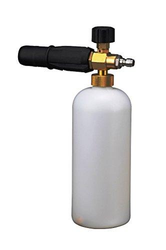Wisamic Schaumdüse Schaumlanze mit Sprühflasche Druckregler