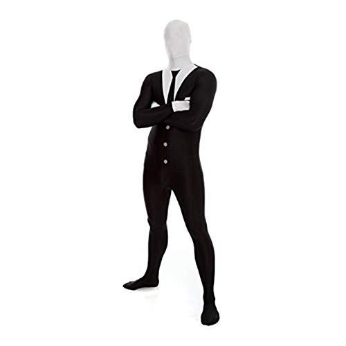 Morphsuits MPSUX - Kostüm Slenderman, XL (Gute Kostüm Für Übergröße)