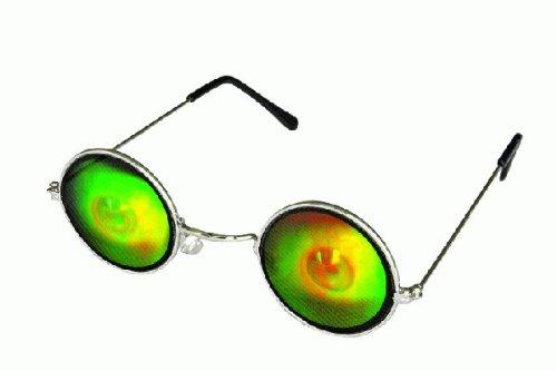Brille Hologramm, Augen