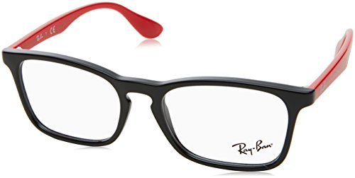 Ray-Ban Junior Unisex-Kinder 0RY 1553 3725 48 Brillengestelle, Schwarz (Black)