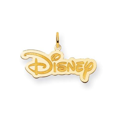 Placcato in oro, a forma di Logo Disney JewelryWeb Disney-SS