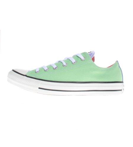 Converse Chuck Taylor All Star Ox, Unisex-Erwachsene Sneaker - Grün, Multi