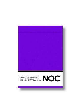 NOC Originals Playing Cards  PURPLE