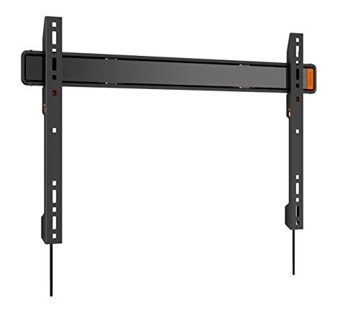 Vogel's WALL 3305 TV-Wandhalterung für 40-100 Zoll Fernseher, starr, max. 80 kg, Vesa max. 600 x 400 mm, schwarz (Smart Zoll Tv 100)