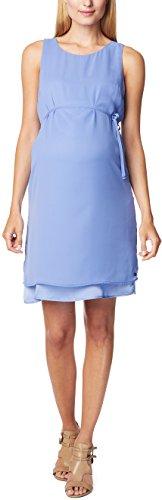 ESPRIT Maternity - Robe - maternité - Crayon - Manches courtes Femme Bleu - Blau (Lavender 425)