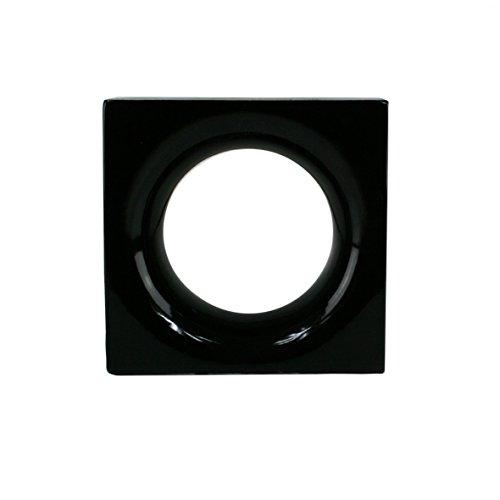 1 Stück Style'n Art Deko Idee Loop Schwarz 19x19x8 cm - 2