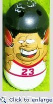 Mighty Beanz 2009 Series 1 Common Sportz Single Basketball Bean #77 by Mighty Beanz