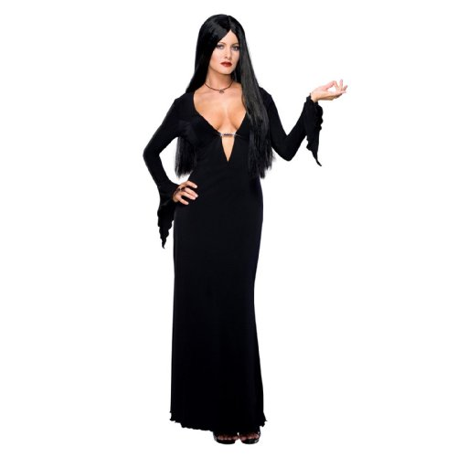 Morticia Kostüm für Damen - XS