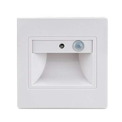 BLOOMWIN 4x LED Nocturno Luz con Sensores de Movimiento Luz Senor Automático...
