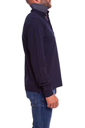GENDIVE Herren Poloshirt Blau
