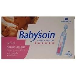 Cooper Babysoin Sérum Physiologique 30 Unidoses