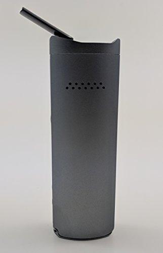 Vaporizer Xmax Starry V2 - nebelgrau - Metall Gehäuse und Keramik Mundstück - premium Verdampfer mit wechselbarer 2600 mAh Batterie - Vape Bong für Weed, Kräuter, Wachse und Öle