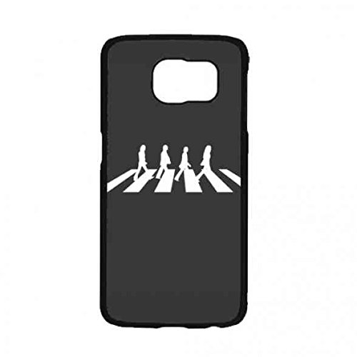 The Beatles Silikon Handyhülle Schutzhülle Handyschale mit Strukturierte Design für Samsung Galaxy S7,Rock Band The Beatles Handyhülle Schutzhülle Samsung Galaxy S7 Schutzhülle Handyschale (Britische Rock-bands)