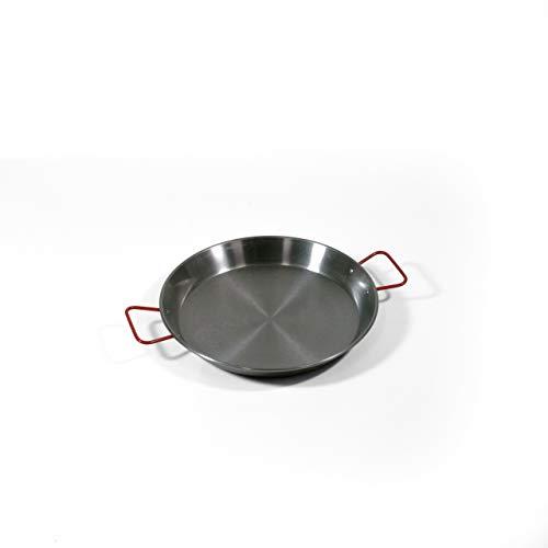 LA IDEAL - Paellera valenciana para 6 personas, 34 cm, Gris