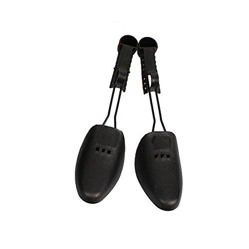 1Paar Schuhspanner für Damen und Herren aus Kunststoff, verstellbar, 2-Wege-Schuhspanner, Unisex-Schuhspanner, mit schwarzem Halter, Damengröße: 22–28cm, Herrengröße: 25–32cm Women:22-28cm