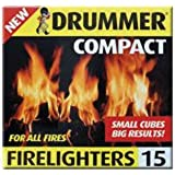 Pack of 60 Drummer Compact Firelighters