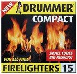 360Stück Drummer Compact Kaminanzünder