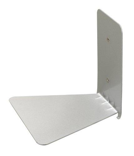 Umbra 330638-560 Conceal unsichtbares Bücherregal aus Metall, klein, silber -