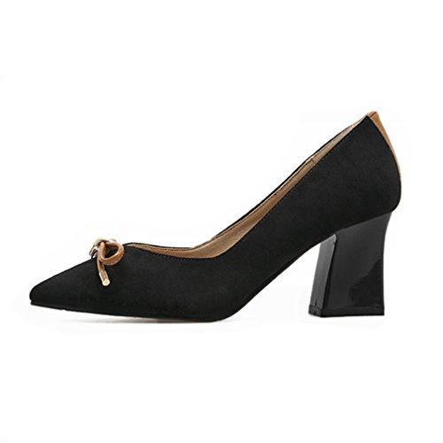Unknown Welldone2017, Chaussures À Talons Noirs Pour Femmes