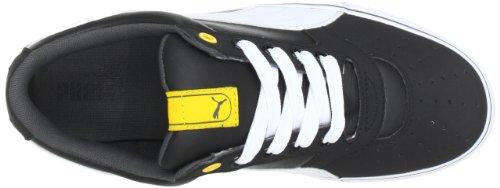 Puma Sky 2 Low Vulc 353272 Unisex-Erwachsene Sneaker Schwarz (black-team yellow 18)