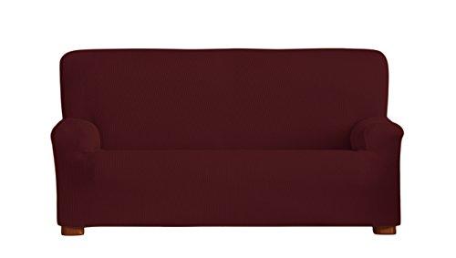 Eysa Italia Ulises Copridivano Elastico, Rosso , 180 a 210 cm/3 posti