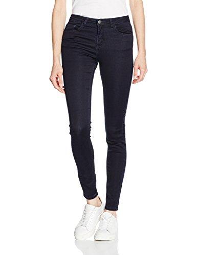 PIECES Damen Skinny Jeans PCFIVE Betty Jeggings DBLD/NOOS, Blau (Dark Blue Denim), 38 (Her Preisvergleich
