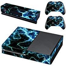eseeking ganzen Körper Vinyl Haut Aufkleber Aufkleber Cover für Microsoft Xbox One Konsole grün Lampen - Grüne Haut, Körper Zu Waschen