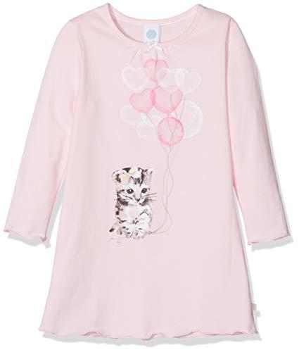 Sanetta Mädchen Nachthemd Sleepshirt w.Print, Pink (Magnolie 3609.0), 140