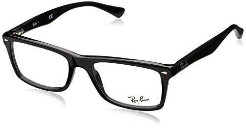 Ray-Ban Herren Brillengestell 0rx 5287 2000 52, Schwarz (Black) (Frames Ray Ban Prescription)