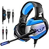 Best HP Headset Pcs - Beyda NEW Version Gaming Headphone Headset Headband Review