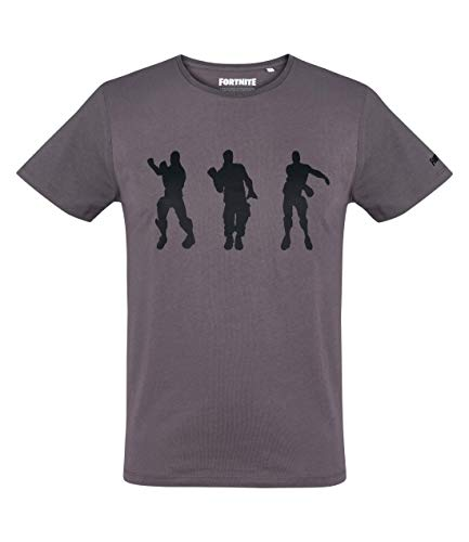 Fortnite Floss Dance - Camiseta, color gris oscuro, talla XL