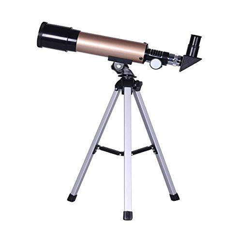 DDDF Teleskope Teleskope for die Astronomie mit 10-fachem Telefonadapter, verstellbarem Stativ, 3-fachem Barlow-Objektiv, Tragetasche und Mondfilter