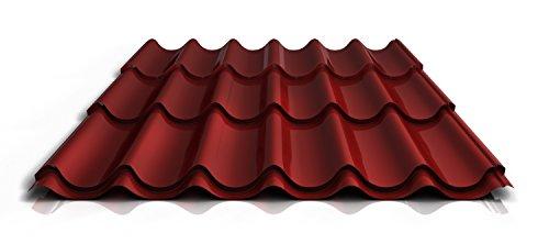 stahl-pfannenblech-ps47-1060rta-040-mm-25-um-polyester-farberotlange1850-mm