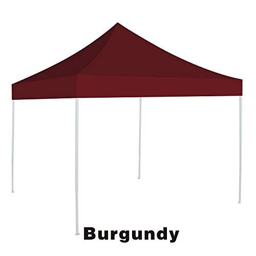 BenefitUSA Ez Pop Up Sofortüberdachung für Pavillon, 3 x 3 m, Burgunderrot