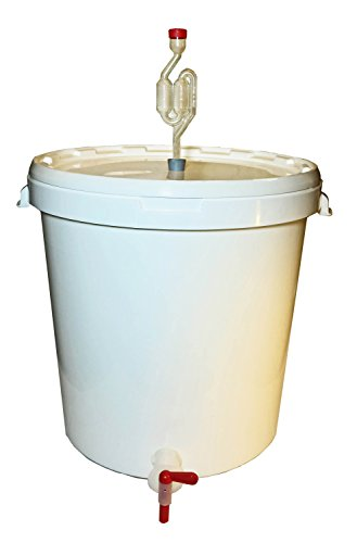 gaerbehaelter bier 30 Liter Brau- und Gärbehälter zur Herstellung von Bier, Wein oder Most
