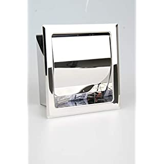 Einbau Toilettenpapierhalter Single, Matt, Unterputz aus Edelstahl