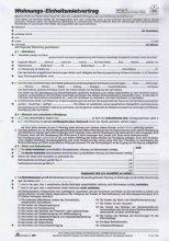 RNK Wohnungs-Mietvertrag/525/10 DINA 4 6-seitig Inh.10