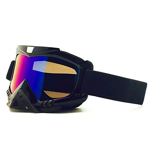 Snowboard Ski Goggles Snowboard Goggles Anti-Fog 100% UV Protection Helmet Compatible Snow Goggles Goggle (Color : 1, Size : One Size) Img 2 Zoom