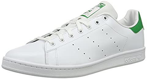 Adidas Stan Smith, Sneakers Basses mixte adulte, Ivoire (Running White Footwear/running White/fairway), 50
