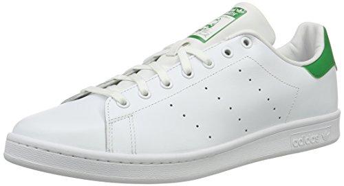 adidas Stan Smith, Sneakers Basses mixte adulte, Blanc (Running White Ftw/Running White/Fairway), 50 EU